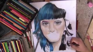 Speed Drawing: Melanie Martinez ( Carousel) | Aye