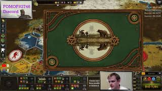 Albion Innovative 18 Turns - LIVE stream - Scythe Board Game