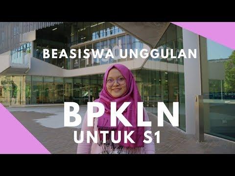 Beasiswa Unggulan BPKLN untuk S1