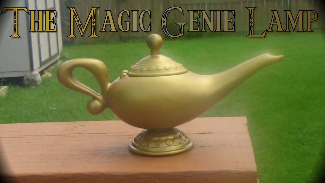 The Magic Genie Lamp (part 1)   YouTube