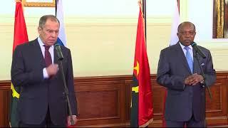 Ответы на вопросы СМИ С.Лаврова и М.Д.Аугушту