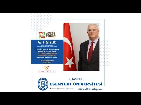 """Prof. Dr. Sait Yılmaz """"6. İstanbul Güvenlik Konferansı"""" Programının Zoom Canlı Yayın Konuğu Oldu"""
