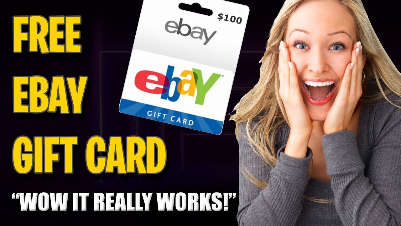 Free Ebay Gift Card Coupon Cards Code Working Tutorial Youtube