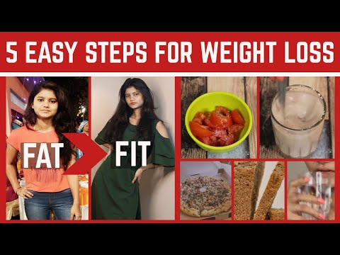 How to Lose Weight FAST without GYM & DIETING | 5 Important Tips For WEIGHT LOSS | #weightloss
