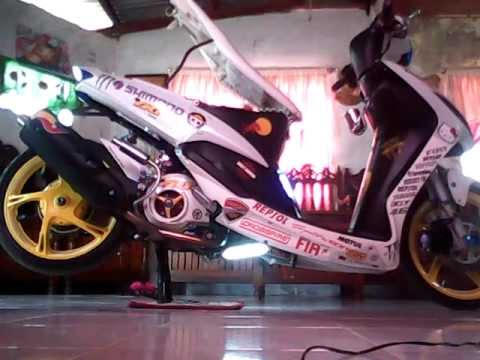 Mio Yamaha Doovi - Mio decalsmiomodified by boyong luzano apalit pampanga youtube