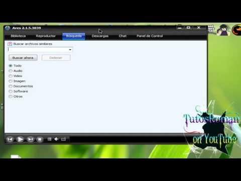 Como Descargar E Instalar Ares Compatible con :  Windows 7, XP & Vista