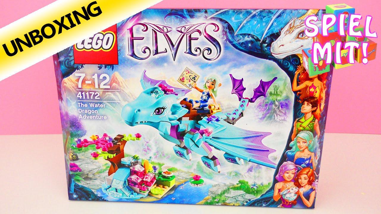 Ausmalbilder Lego Elves Drachen: Lego Elves 41172 Abenteuer Mit Dem Wasserdrachen
