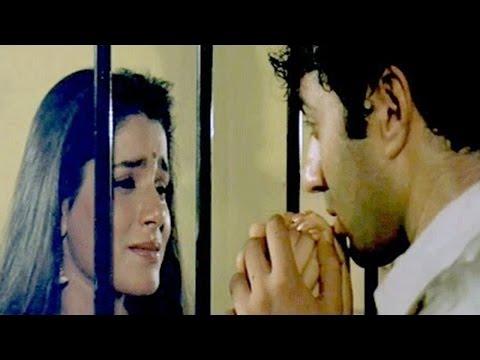 Chunky Pandey mistaken Sunny Deol as Robber | Paap Ki Duniya - Scene 11/16