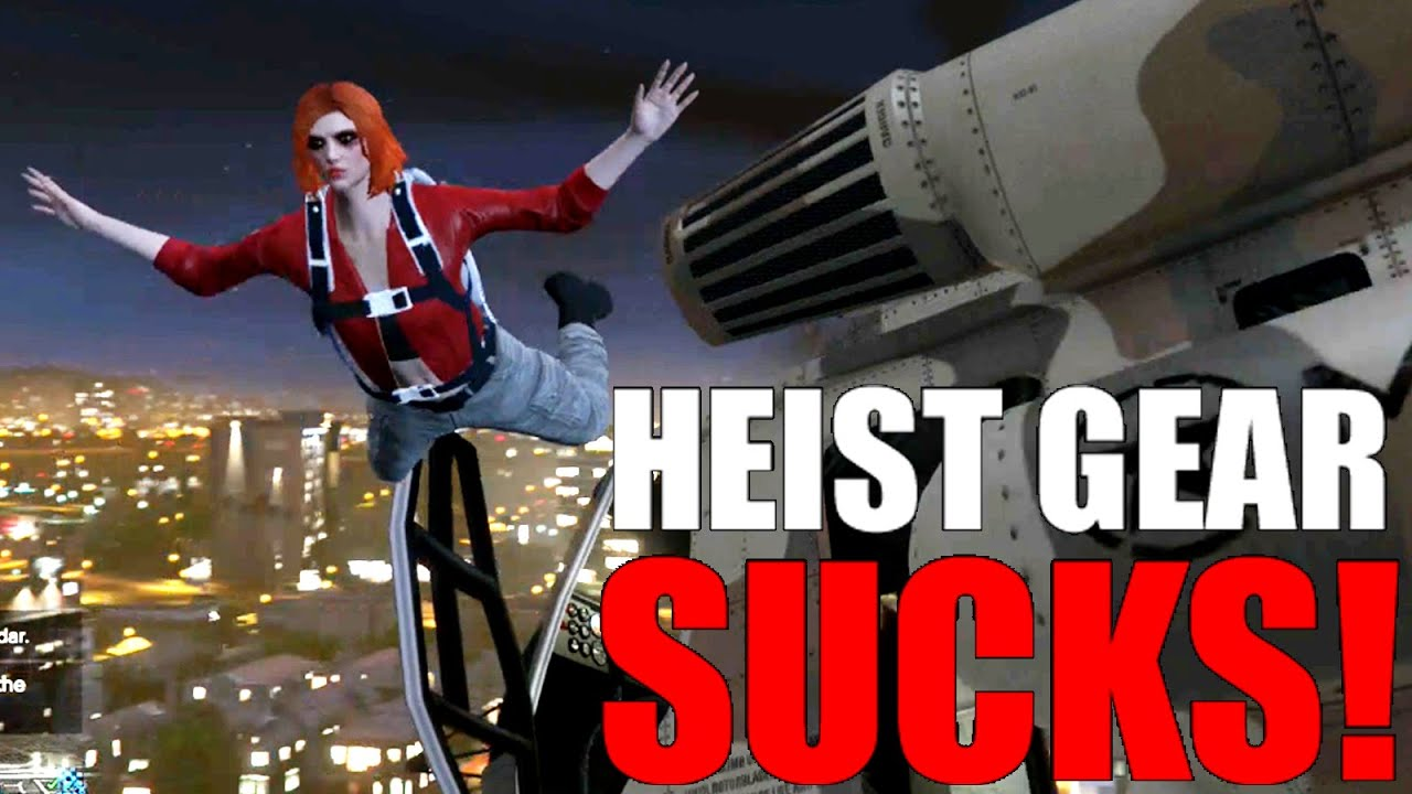 Heist gear is op gta v online youtube for Hv interieur heist