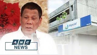 Duterte threatens military takeover of Metro Manila water distribution   Business Nightly