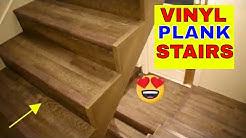 VINYL PLANK FLOORING ON STAIRS