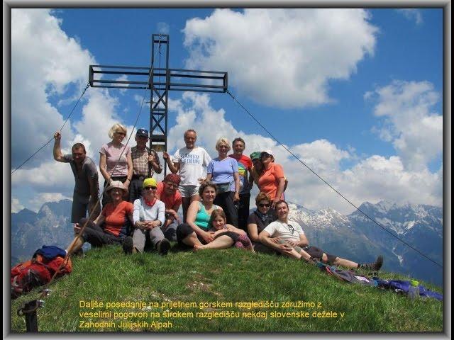 Monte Kucer nad Dolino Rezije