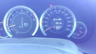 Honda Accord 2.0 0-160 km/h
