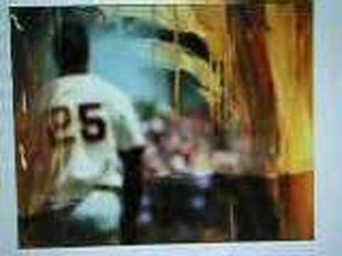 Willie Mays interivew Derek Jeter Ken Griffey Jr.(my art)