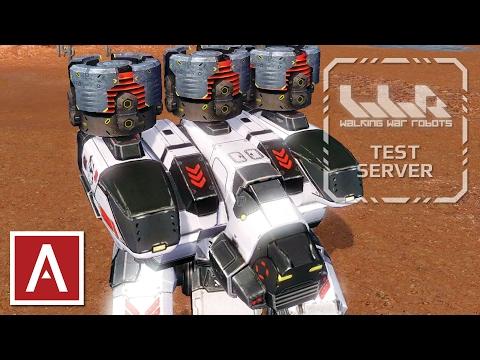 War Robots Test Server [2.6.0] Live Stream - Energy Shield Rebalancing