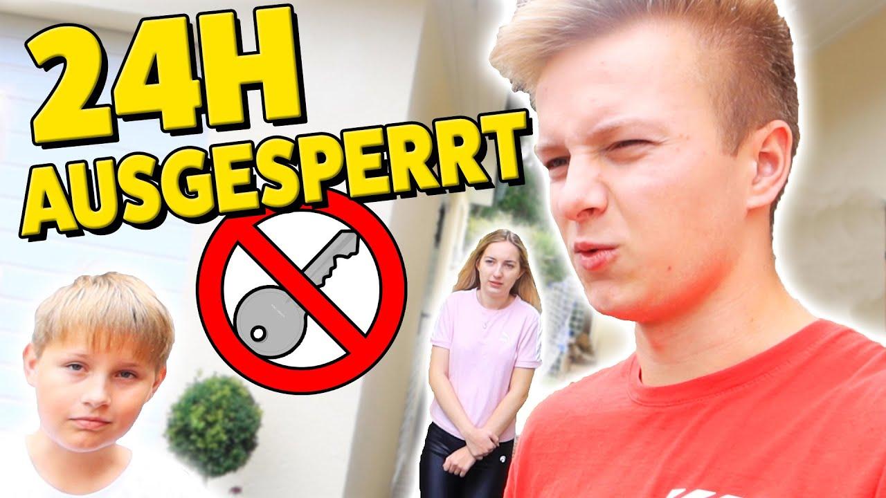 Ausgesperrt aus Haus (zu DUMM) 🤣 Ash und Max