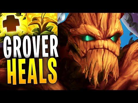 GROVER FULL HEALING! | Paladins Gameplay