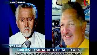 EXCLUSIVO: Roberto Vieira pide 20 mil dólares por levantar sanción