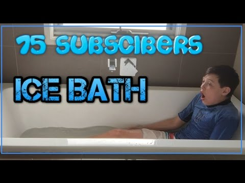 Ice Bath Challenge | 75 Subscriber Special
