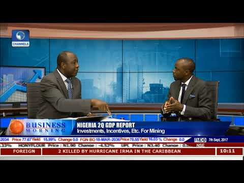 Focus On Mineral Resources In Nigeria's 2Q GDP Reading Pt.2 |Business Morning|