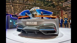 Pininfarina Battista $2 million Fastest Italian Electric Hypercars Ever 1900 HP BEAST at Geneva 2019