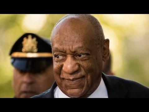 Bill Cosby trial in shadows