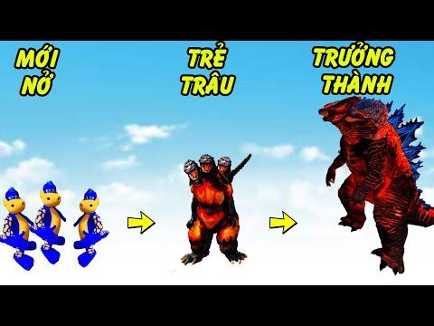 GTA 5 - Godzilla 3 đầu Nham thạch truyện bây giờ mới kể   GHTG