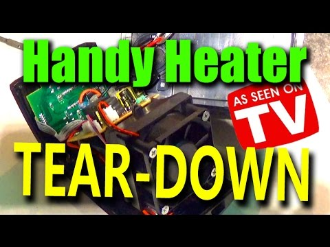 Handy Heater - Space Heater TEAR-DOWN on