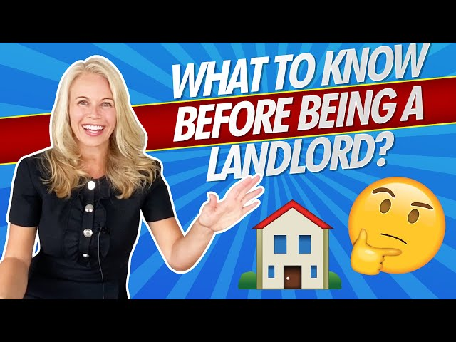 What To Know Before Becoming a Landlord? Tips & Tricks For Landlords + Investors 🏡