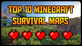 Best Survival Maps [ Top 10 Minecraft Survival Maps 2017 ] + Download Link