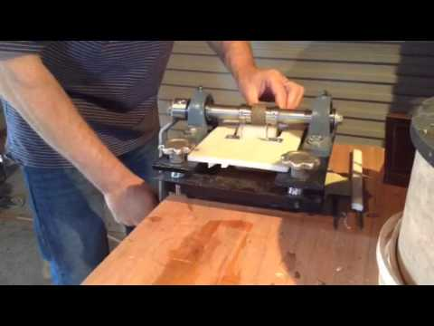 Homemade Leather Embossing Machine Youtube