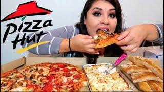 Pizza Hut MUKBANG