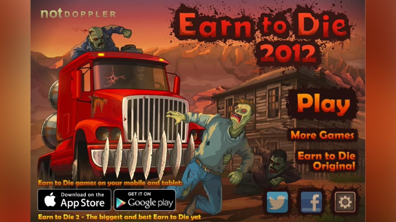 Earn to Die Part 2 - Unblocked Games 77
