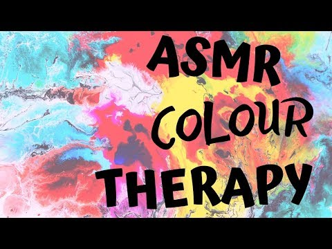"Colour Therapy ASMR with  only🎵 ""Dreaming in 432Hz"""