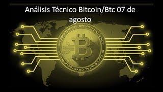 Análisis Diario Bitcoin/btc 07 de agosto - ¿Sube bitcoin?
