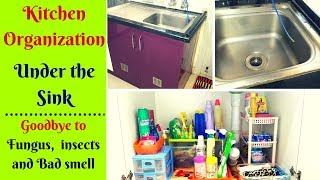 Kitchen Under the Sink Organization - Cleaning and Maintenance Guide - Kitchen Series -1