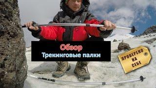 Трекинговые палки для походов - обзор