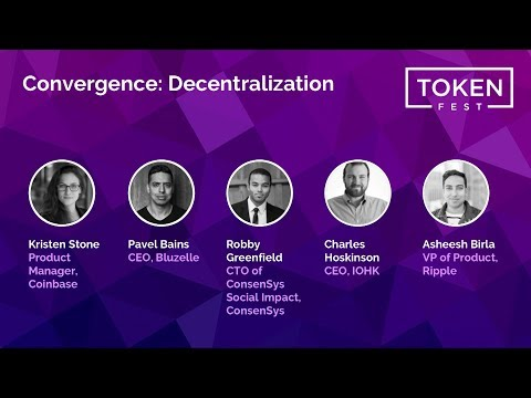 Panel Discussion - Convergence: Decentralization