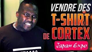 VENDRE DES T-SHIRTS DE CORTEX A LA JAPAN EXPO - LE CLUBIRD