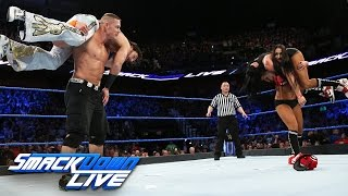 John Cena vs. Fandango: SmackDown LIVE, March 21, 2017 thumbnail