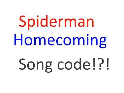 Roblox Spider Man Homecoming Shirt - Spiderman Homecoming Main Theme Song Code Roblox