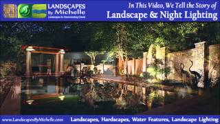 Landscape Lighting, Night Lighting, Security Lighting, Rockford Lighting Contractors
