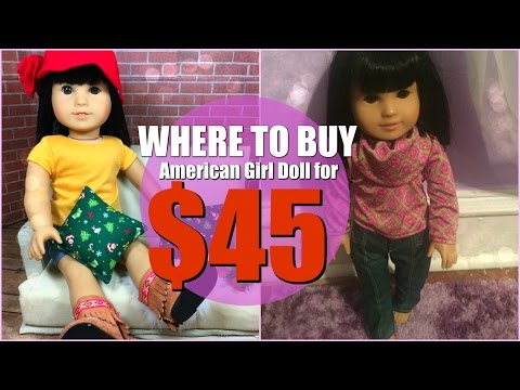 WHERE TO BUY A $45 AMERICAN GIRL DOLL!