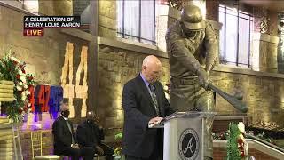 Hank Aaron Memorial Service