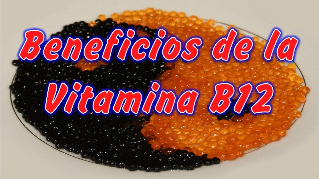 Vitamina b12 para que sirve y beneficios que alimentos contienen vitamina b12 youtube - Alimentos q contienen vitamina b ...