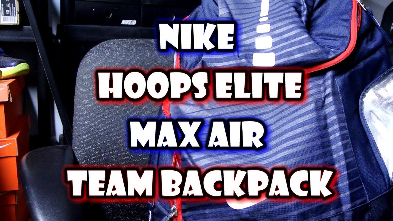e768d63c4481 Quick Look  Nike Hoops Elite Max Air Team Backpack - YouTube