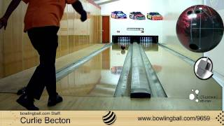 Brunswick C(System) Ulti-max Bowling Ball Reaction Video