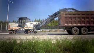 Video still for WIRTGEN GmbH | The productive cold milling machine W 215 | EN