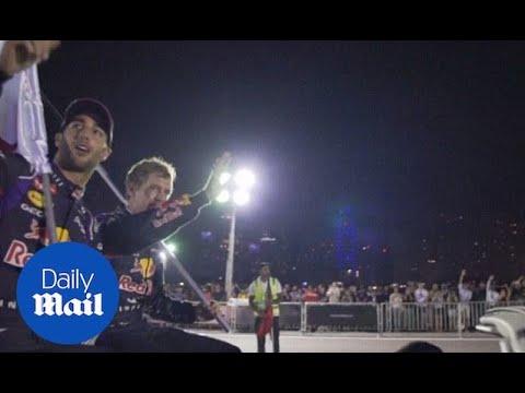 Vettel and Ricciardo preview the Abu Dhabi Grand Prix - Daily Mail
