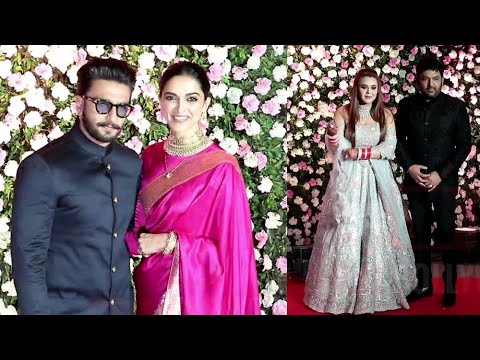Kapil's LOVE DEEPU 😍 GRAND ENTRY @Kapil Sharma's Wedding Reception | #PowerCouple Ranveer-Deepika